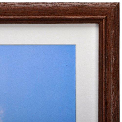 【新品】 HAKUBA 額縁 木製 額 FW-3 A4 サイズ ブラウン A4 1面 木製 FW-3-BWA4