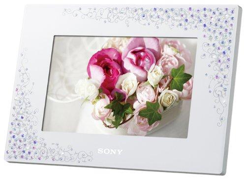 【新品】 ソニー SONY デジタルフォトフレーム S-Frame D720 7.0型 内蔵メモリー2GB クリスタル&ホワイト DPF-D720/WI