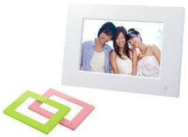【新品】 ソニー SONY デジタルフォトフレーム S-Frame E710 7.0型 内蔵メモリー128MB ホワイト DPF-E710/WI