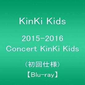 【新品】 2015-2016 Concert KinKi Kids(初回仕様) [Blu-ray]
