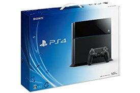 【中古】PlayStation 4 ジェット・ブラック 500GB (CUH-1000AB01) 【メーカー生産終了】