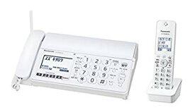 【中古】パナソニック おたっくす デジタルコードレスFAX 子機1台付き 1.9GHz DECT準拠方式 ホワイト KX-PD304DL-W