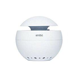 【中古】arobo 空気清浄機 ホワイト CLV-166S