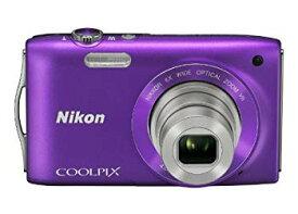 【中古】Nikon デジタルカメラ COOLPIX (クールピクス) S3300 ラベンダーパープル S3300PP