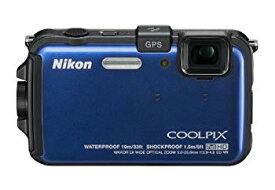 【中古】Nikon デジタルカメラ COOLPIX (クールピクス) AW100 オーシャンブルー AW100BL