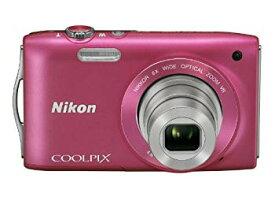 【中古】Nikon デジタルカメラ COOLPIX (クールピクス) S3300 ストロベリーピンク S3300PK
