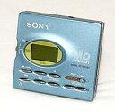 【中古】SONY ソニー MZ-R91-L ブルー ポータブルMDレコーダー MDLP非対応(録音/再生兼用機/MDウォークマン)