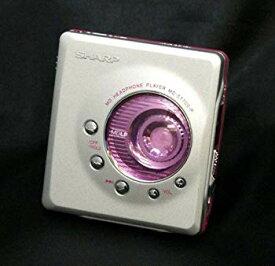 【中古】SHARP シャープ MD-ST700-P ピンク ポータブルミニディスクプレーヤー MDLP対応 (ポータブルMDプレーヤー/MD再生専用機/MDウォークマン)
