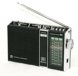 【中古】National Panasonic ナショナル パナソニック 松下電器産業 RF-858D GXワールドボーイ BCLラジオ 3バンドレシーバー (FM/MW/SW)