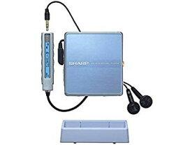 【中古】SHARP シャープ MD-ST600-A ブルー系 ポータブルMDプレーヤー MDLP対応 (MD再生専用機)