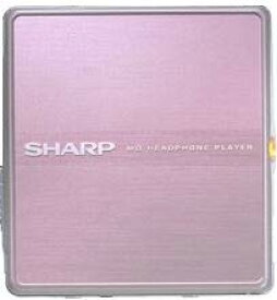 【中古】SHARP シャープ MD-ST600-P ピンク ポータブルMDプレーヤー MDLP対応 (MD再生専用機/MDウォークマン)