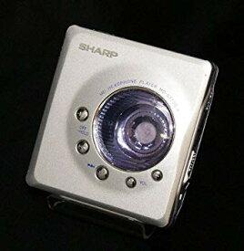 【中古】SHARP シャープ MD-ST700-A シルバー×ブルー ポータブルミニディスクプレーヤー MDLP対応(ポータブルMDプレーヤー/MD再生専用機/MDウォークマ