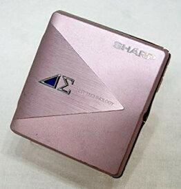 【中古】SHARP シャープ MD-DS5-P ピンク系 1ビットポータブルMDプレーヤー MDLP対応 (MD再生専用機/MDウォークマン/1-BIT)