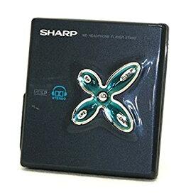 【中古】SHARP シャープ MD-ST880-B ブラック ポータブルMDプレーヤー(MD再生専用機/MDウォークマン) MDLP対応 ドルビーヘッドフォンシステム搭載