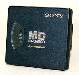 【中古】SONY ソニー MZ-E55 (ミッドナイトブルー) ポータブルMDプレーヤー MDLP非対応 (MD再生専用機/MDウォークマン)