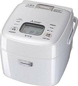【中古】三菱電機 IHジャー炊飯器 備長炭炭炊釜 3.5合炊き ピュアホワイト NJ-SE068-W