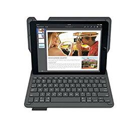 【中古】LOGICOOL キーボード?体型保護ケース for iPad Air 2 ブラック iK1051BK