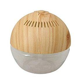 【中古】空気をキレイに!水の力 空気洗浄機 WOODタイプ H2O 水で空気洗浄!空気洗浄器 マジックボール!アロマ 空気洗浄器 magic ball タバコ トイレ ニ