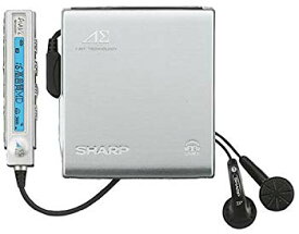 【中古】SHARP アウビィ MD-DS70-S 1ビットポータブルMDプレーヤー(シルバー)