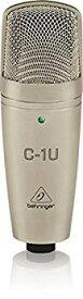 【中古】ベリンガー USBコンデンサーマイク ボーカル スタンドマウント付き C-1U