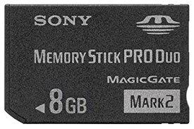 """【中古】SONY 著作権保護機能搭載IC記録メディア""""メモリースティック PRO デュオ"""" 8GB MS-MT8G 2T"""