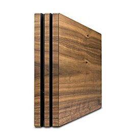 【中古】balolo Playstation 4 Pro プレイステーション4 プロ専用 ウォルナットウッド 木製ケースカバー
