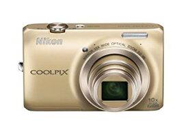 【中古】Nikon デジタルカメラ COOLPIX (クールピクス) S6300 エレガントゴールド S6300GL
