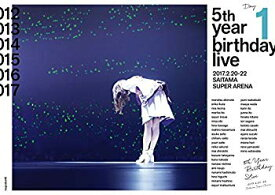 【中古】5th YEAR BIRTHDAY LIVE 2017.2.20-22 SAITAMA SUPER ARENA Day1 (Blu-Ray)