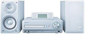 【中古】SONY HDD/CD対応 ハードディスクコンポ HDD80GB CMT-E300HD/W ホワイト