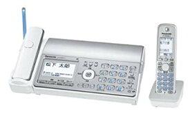 【中古】(未使用・未開封品) パナソニック おたっくす デジタルコードレスFAX 子機1台付き 1.9GHz DECT準拠方式 シルバー KX-PD551DL-S