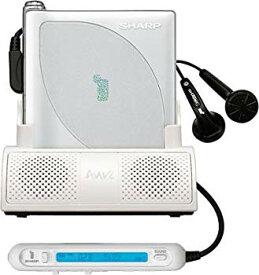 【中古】SHARP 1ビットポータブルMDプレーヤー MD-DP700-W(ホワイト系)