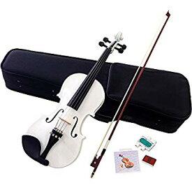 【中古】Hallstatt ハルシュタット ヴァイオリン ホワイト V-12/WH 4/4サイズバイオリン (通常サイズ)