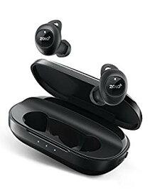 【中古】Anker Zolo Liberty+ (Bluetooth 5.0 完全ワイヤレスイヤホン) 【最大48時間音楽再生 / Siri対応 / IPX5防水規格 / 周囲音取り込み機能搭載】(ブ