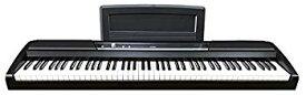 【中古】KORG 電子ピアノ SP-170S 88鍵 ブラック ダンパー・スイッチ、譜面立て付属