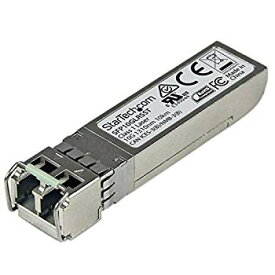 【中古】(未使用・未開封品) StarTech.com SFP+モジュール Cisco製SFP-10G-LR-S互換 10GBASE-LR準拠光トランシーバ ライフタイム保証 SFP10GLRSST