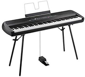 【中古】KORG 電子ピアノ SP-280-BK 88鍵 ブラック
