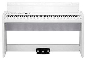 【中古】KORG 電子ピアノ LP-380-WH 88鍵 ホワイト ヘッドホン、ペダル付属 同音連打可能