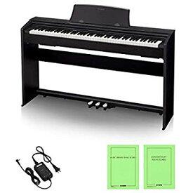 【中古】CASIO(カシオ) 88鍵盤 電子ピアノ Privia PX-770BK ブラックウッド調
