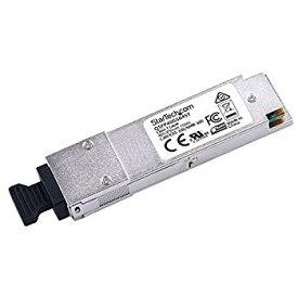 【中古】(未使用・未開封品) StarTech.com QSFP+モジュール Cisco製QSFP-40G-SR4互換 40GBASE-SR4準拠 光トランシーバ ライフタイム保証 QSFP40GSR4ST