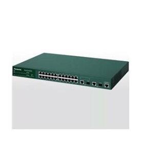 【中古】(未使用・未開封品) パナソニックESネットワークス 24ポートL2スイッチングハブ Switch-M24X PN232409