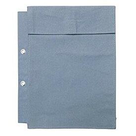 【中古】ウチダ 布製図面袋 A4収納 2穴大玉ハトメ 5cmマチツキ 014-0172