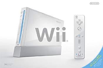 【中古】Wii本体(シロ)(「Wiiリモコンプラス」同梱)(RVL-S-WAAG)【メーカー生産終了】