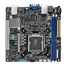 【中古】ASUS LGA1151 DDR4 EEC/Non-ECC UDIMM Mini-SAS HD M.2 C242 サーバー ワークステーション ミニ ITX マザーボード マザーボード P11C-I