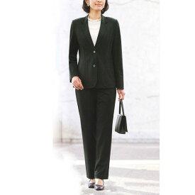 【送料無料】【Marguerite Sis】ブラックフォーマル・パンツスーツ ニット【M】【L】【LL】ミセス・シニアに♪30代40代50代60代のレディスファッション