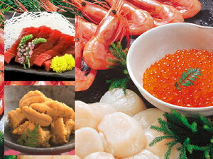 【送料無料】北のお刺身海鮮丼&手巻寿司セット「※沖縄へお届けの場合は別途送料880円がかかります。」