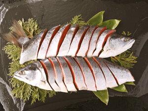 【送料無料】熟成塩紅鮭寒風姿造り「※沖縄へお届けの場合は別途送料880円がかかります。」