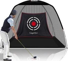 ゴルフネット 練習用 ゴルフトレーニングネット ヒッチングネット 折りたたみ式 収納バッグ付き 室内室外 設置簡単 3mx2mx1.8m 【一年間の安心購入】