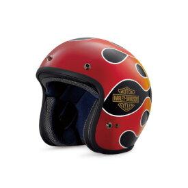 【純正品】アライヘルメット・Arai Helmet Meets H-D Spirit・Retro Flame 3/4 Helmet・レトロ フレーム ジェットヘルメット:98136-18JX