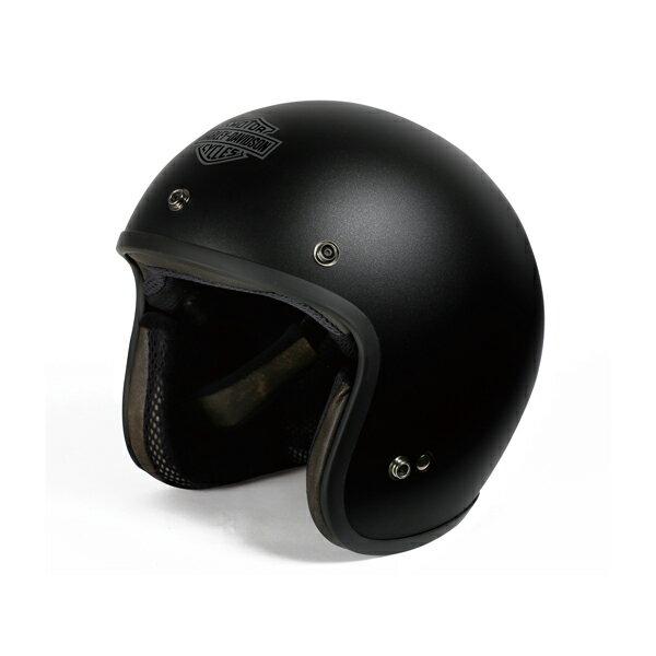 【純正品】アライヘルメット・Arai Helmet Meets H-D Spirit・3/4 SOLID MATTE BLACK・ジェットヘルメット ソリッド マットブラック:98322-14VA