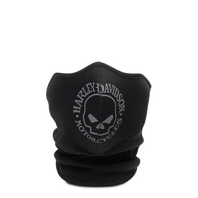 【純正品】HARLEY-DAVIDSON◆ハーレーダビッドソン・Skull Fleece Neoprene Face Mask・スカルフリース ネオプレンフェイスマスク・(鼻と口には通気口があり苦しくありません):99406-16VM [ 532P19Mar16 ]
